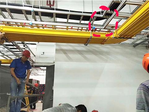 光纤保护槽