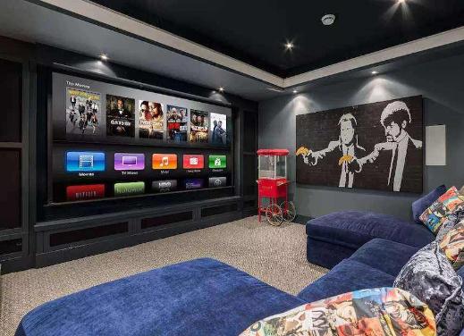 私人家庭影院的房间选择及装修