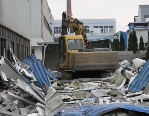 钢结构厂房的拆除方案