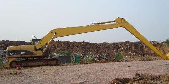关于挖掘机的加长臂你知道是怎么分类的吗?