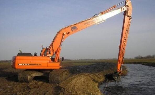长臂挖掘机出租可以用作哪些方面?
