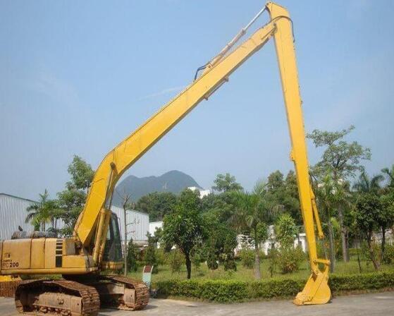 加长臂挖掘机租赁的应用范围有哪些