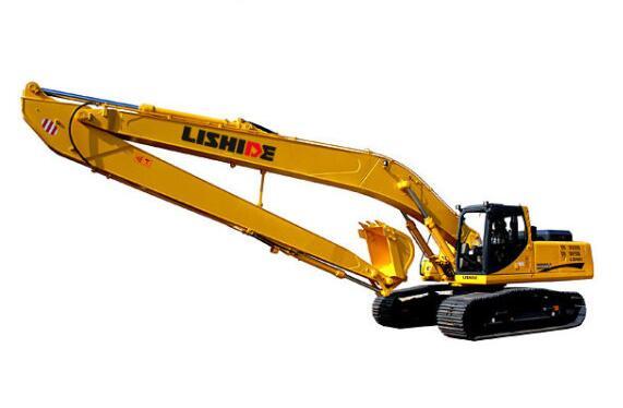 挖掘机加长臂在施工现场有什么特点?