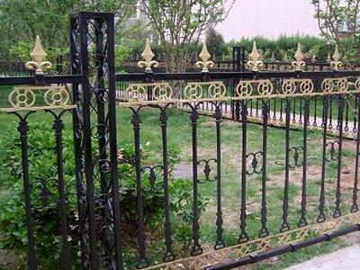 铸铁铁艺围墙栏杆