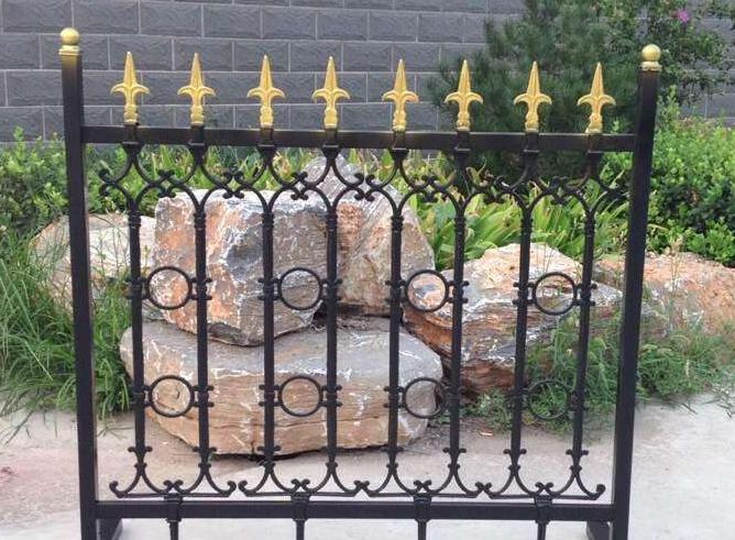 别墅铁艺围墙栏杆