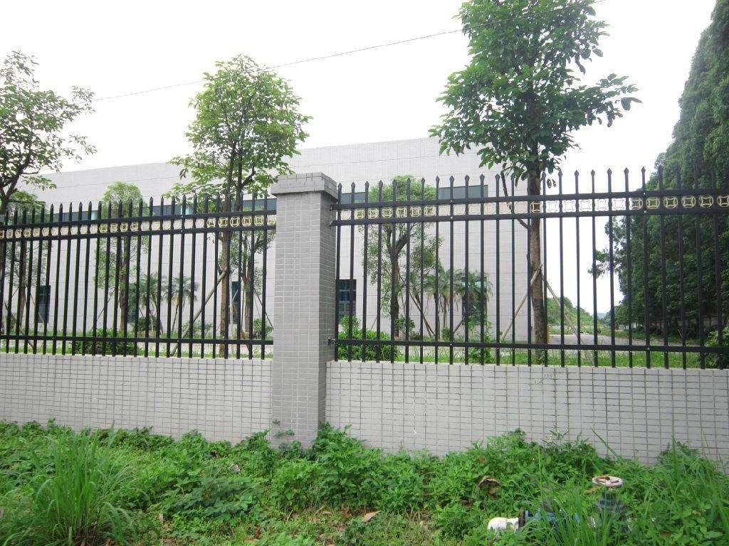 铁艺围墙护栏栏杆
