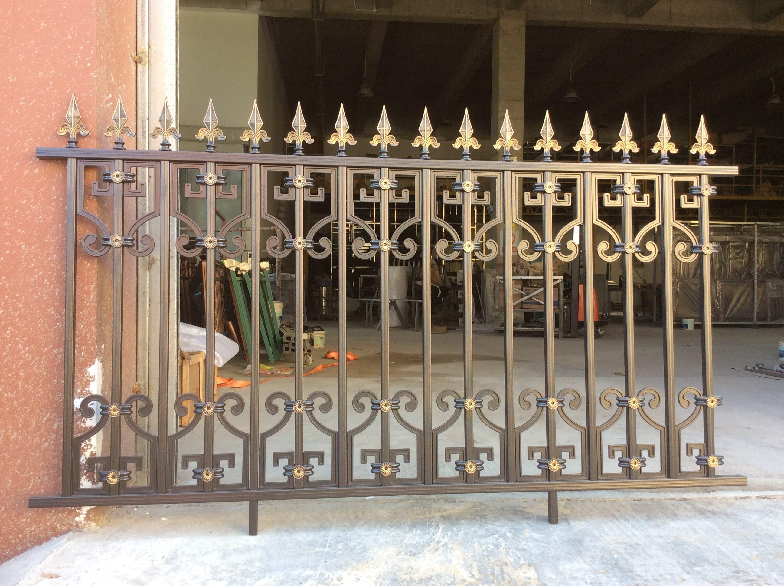 铝艺楼梯栏杆