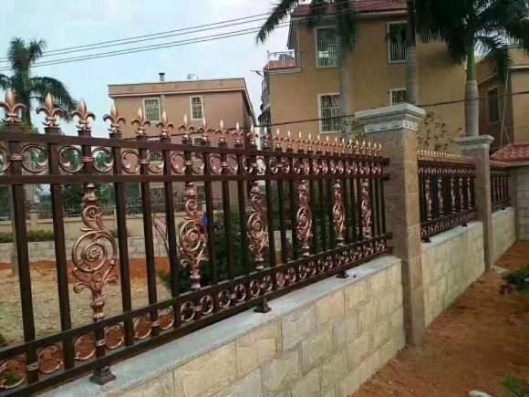 铂耐铝艺栏杆