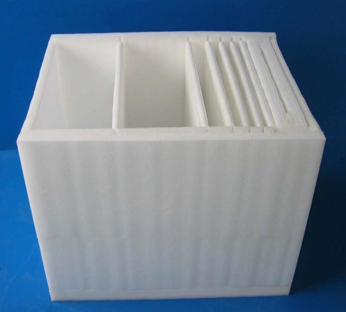 昆山EPE珍珠棉是由低密度聚乙烯脂独立气泡生成的