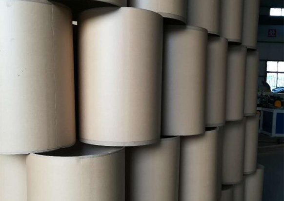 机械设备纸桶成品