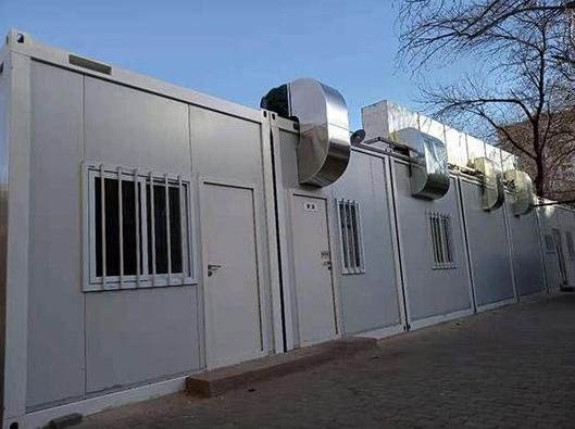 集裝箱洗澡房廠