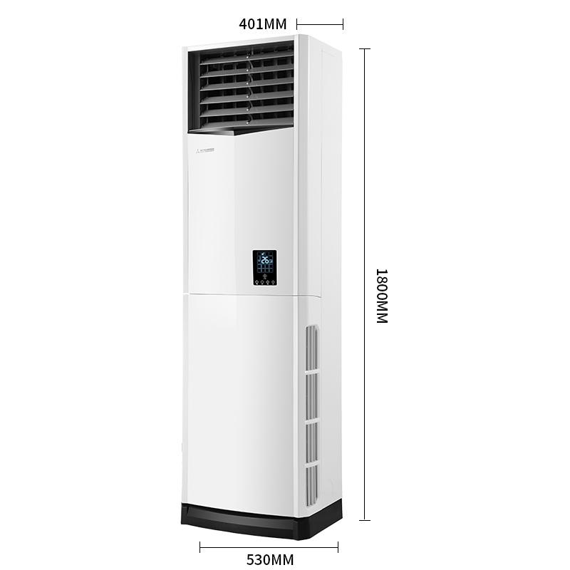 昆明立柜式电辅热冷暖中央空调安装公司