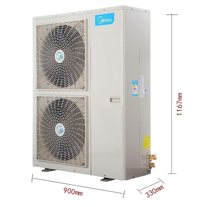 云南美的定频冷暖风管式家用中央空调价格