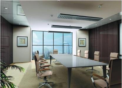 云南办公会议室嵌入式中央空调系统安装