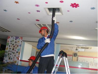 幼儿园中央空调安装