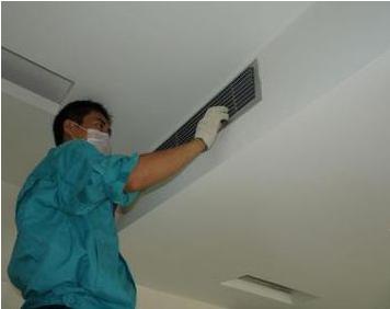 嵌入式中央空调安装