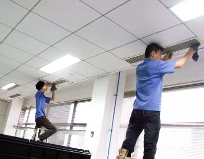 办公室中央空调安装调试