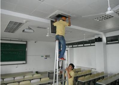学校中央空调安装调试