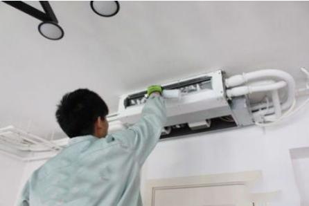 家用嵌入式中央空调安装调试