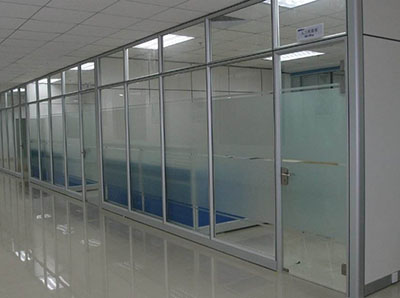 办公室玻璃高隔间