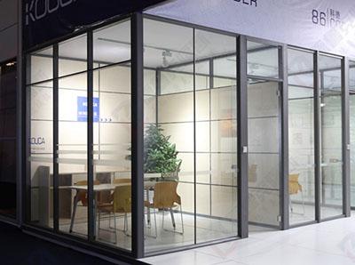 办公室玻璃高隔断