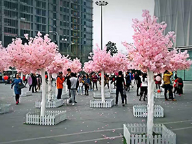 樱花仿真树